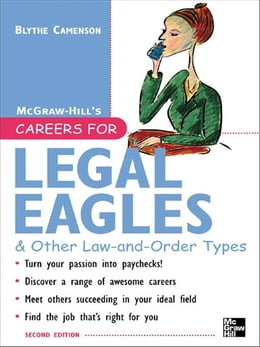 Book Careers for Legal Eagles & Other Law-and-Order Types, Second edition by Camenson, Blythe
