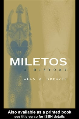 Book Miletos: A History by Greaves, Alan M.