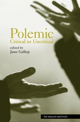 Book Polemic by Gallop, Jane