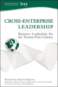 Cross-Enterprise Leadership: Business Leadership for the Twenty-First Century