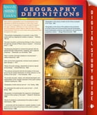 Geography Definitions (Speedy Study Guide) by Speedy Publishing