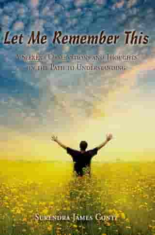 Let Me Remember This: A Seeker's Observations and Thoughts on the Path to Understanding