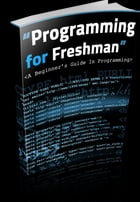 Programming for Freshman by Anonymous