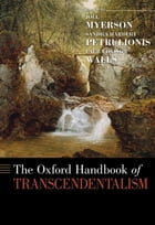 The Oxford Handbook of Transcendentalism