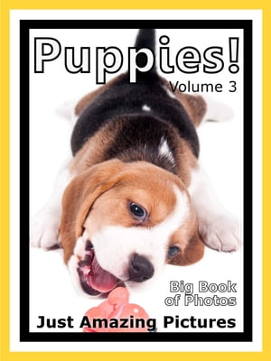 Just Puppy Photos! Big Book of Photographs & Pictures of Baby Dogs & Dog Puppies,  Vol. 3