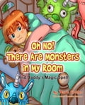 HOW DID LITTLE DAVID GET RID of the MONSTERS in HIS ROOM? -Little David was afraid to fall asleep because every time he shut his eyes the MONSTERS were there! Big and scary monsters. One red, one blue, and one green. But then David's