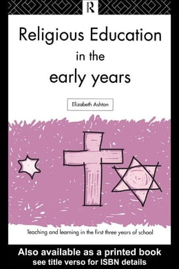 Book Religious Education in the Early Years by Ashton, Elizabeth