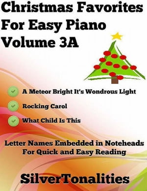 Christmas Favorites for Easy Piano Volume 3 A
