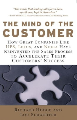 Book The Mind of the Customer: How the World's Leading Sales Forces Accelerate Their Customers' Success by Hodge, Richard