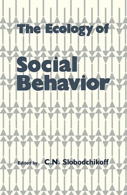 Book The Ecology of Social Behavior by Unknown, Author