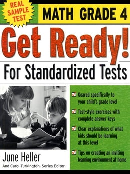 Book Get Ready! For Standardized Tests : Math Grade 4 by June Heller