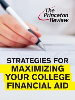 Book Strategies for Maximizing Your College Financial Aid by Kalman Chany