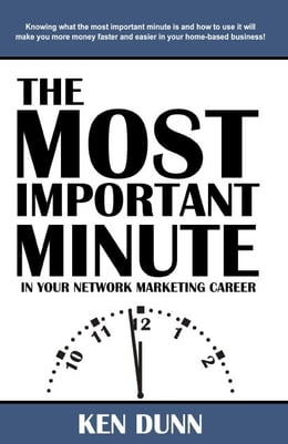 Book The Most Important Minute by Ken Dunn