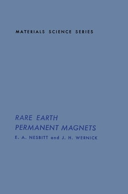 Book Rare Earth Permanent Magnets by Nowick, A.S.