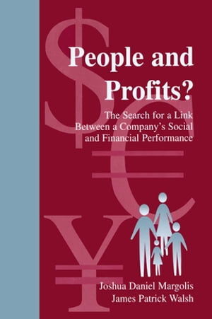 People and Profits? The Search for A Link Between A Company's Social and Financial Performance