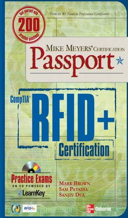 Book Mike Meyers' Comptia RFID+ Certification Passport by Mark Brown
