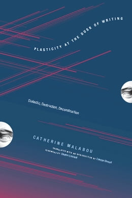 Book Plasticity at the Dusk of Writing: Dialectic, Destruction, Deconstruction by Catherine Malabou