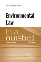 Environmental Law in a Nutshell, 9th