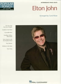 Elton John (Songbook): Hal Leonard Student Piano Library Popular Songs Series