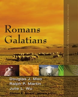Book Romans, Galatians by Douglas  J. Moo