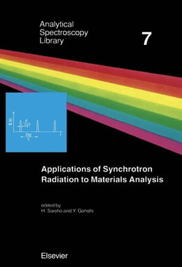 Book Applications of Synchrotron Radiation to Materials Analysis by Saisho, H.
