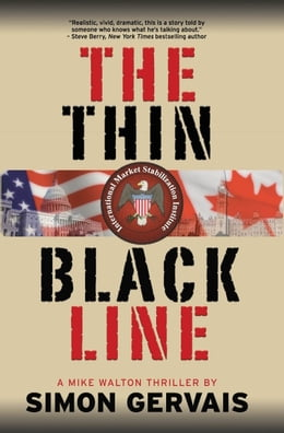 Book The Thin Black Line: A Mike Walton Thriller by Simon Gervais