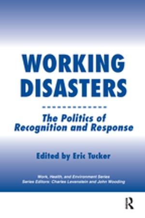 Working Disasters The Politics of Recognition and Response