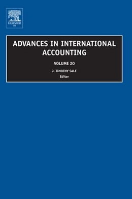 Book Advances in International Accounting by Nagy, Chris, Inc.