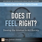 Does It Feel Right? Develop the Intuition to Act Quickly by Yoram (Jerry) R. Wind
