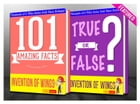 The Invention of Wings - 101 Amazing Facts & True or False?: Fun Facts and Trivia Tidbits Quiz Game Books by G Whiz