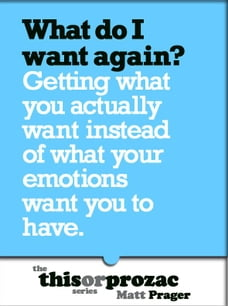 What Do I Want Again?: Getting What You Actually Want Instead Of What Your Emotions Want You To Have