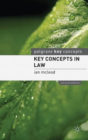 Key Concepts in Law ebook by Ian McLeod