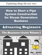 How to Start a Pipe System Construction for Steam Generators Business (Beginners Guide) ebook by Dorothea Nunes