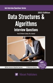 Data Structures & Algorithms Interview Questions You'll Most Likely Be Asked ebook by Vibrant Publishers