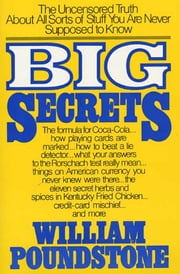 Big Secrets ebook by William Poundstone