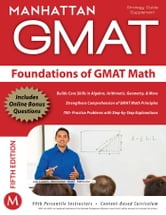 Foundations of GMAT Math ebook by Manhattan GMAT
