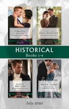 Historical Box Set 1-4 July 2020/The Scoundrel's Bartered Bride/The Master's New Governess/The Earl with the Secret Past/Claimed for the Hi ebook by Janice Preston, Eliza Redgold, Virginia Heath,...