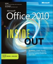 Microsoft® Office 2010 Inside Out ebook by Carl Siechert,Ed Bott
