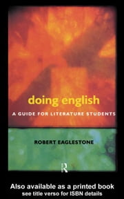 Doing English ebook by Eaglestone, Robert