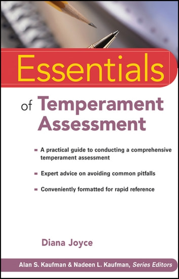 Essentials of Temperament Assessment ebook by Diana Joyce