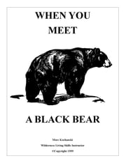 When You Meet a Black Bear ebook by Mors Kochanski