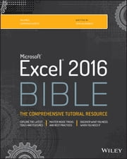 Excel 2016 Bible ebook by John Walkenbach