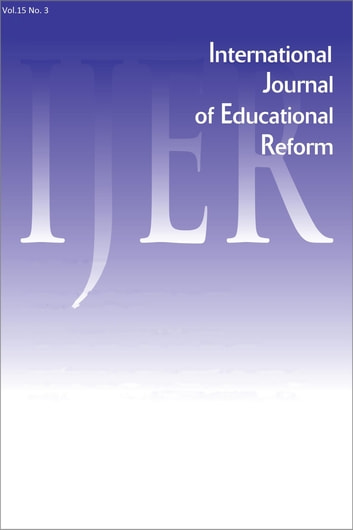 IJER Vol 15-N3 ebook by International Journal of Educational Reform