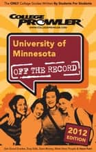 University of Minnesota 2012 ebook by Alison Henderson