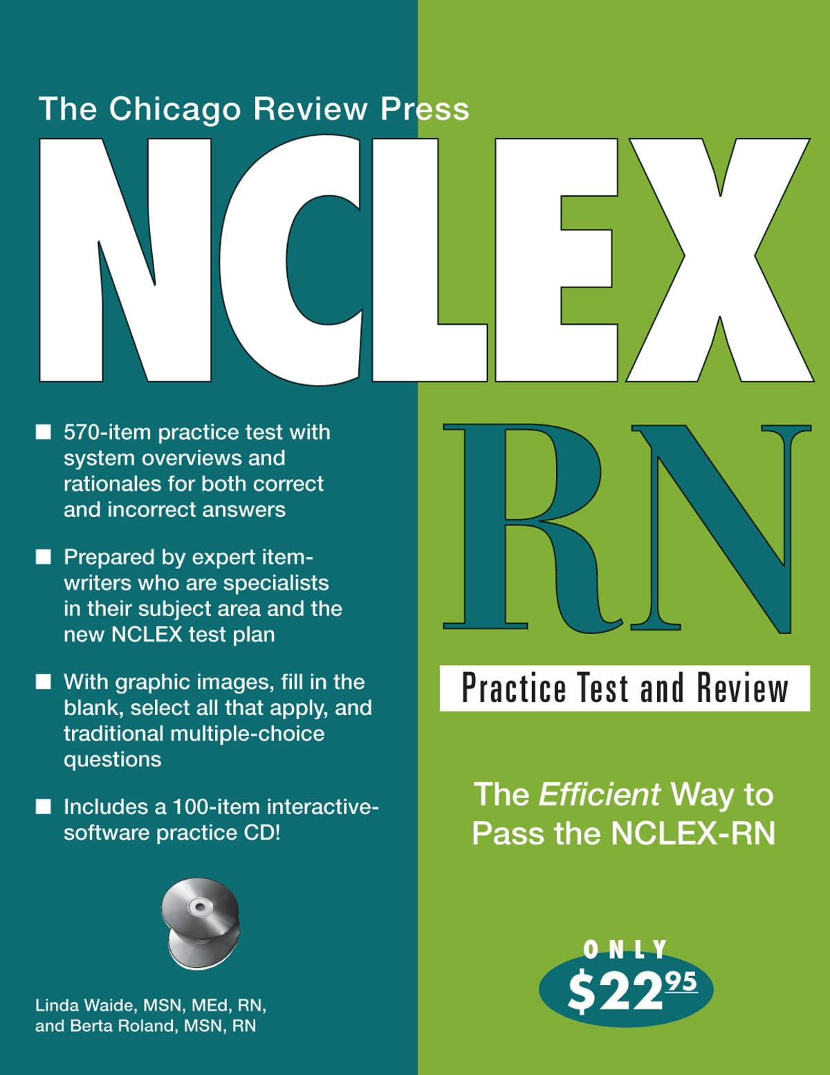 The Chicago Review Press NCLEX-RN Practice Test and Review ebook by Linda  Waide, MSN, MEd, RN - Rakuten Kobo