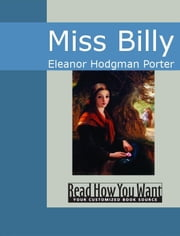 Miss Billy ebook by Eleanor Hodgman Porter