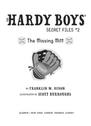 The Missing Mitt ebook by Franklin W. Dixon,Scott Burroughs