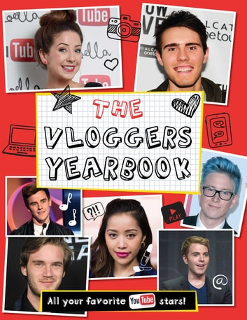 Vloggers Yearbook ebook by little bee books