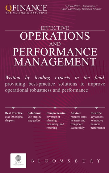Effective Operations and Performance Management ebook by Bloomsbury Publishing