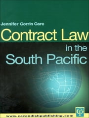 South Pacific Contract Law ebook by Jennifer Corrin-Care